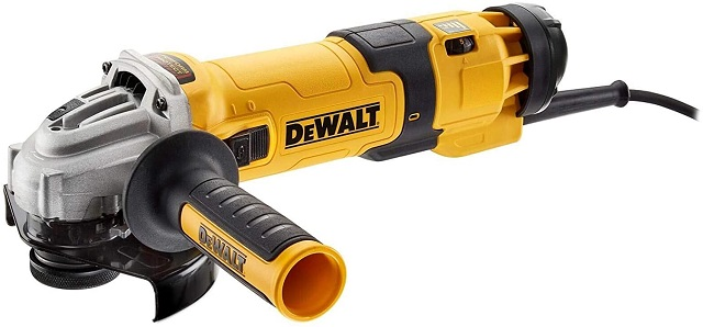 DEWALT DWE4257-QS - Amoladora eléctrica de 125 mm