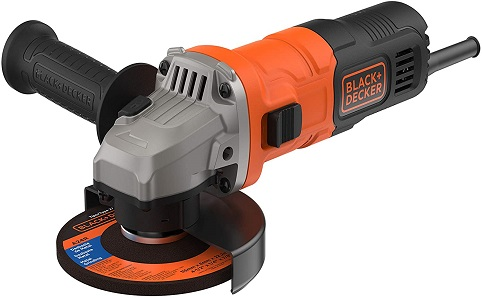 BLACK+DECKER BEG010-QS - Amoladora 115mm, 710W, 12.000 rpm