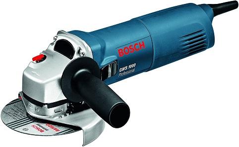 Bosch Professional GWS 1000 - Amoladora angular (1000 W, 11000 rpm